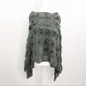 Soft and Comfortable Textured Acrylic Cape, Medium